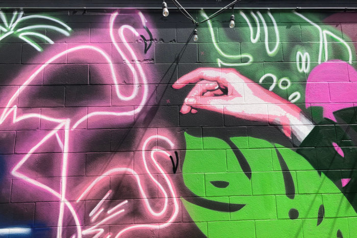 Instagrammable Walls of West Edmonton - The Creative Hive - Explore Edmonton