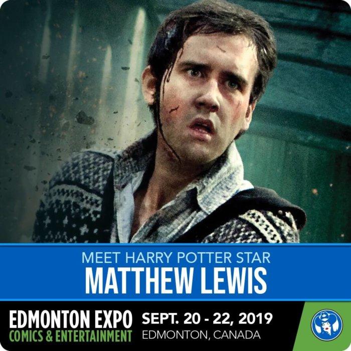Matthew Lewis - Harry Potter - Neville Longbottom - Edmonton Expo
