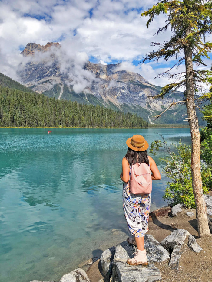 Emerald Lake - Yoho National Park - Explore BC - Explore Alberta Field