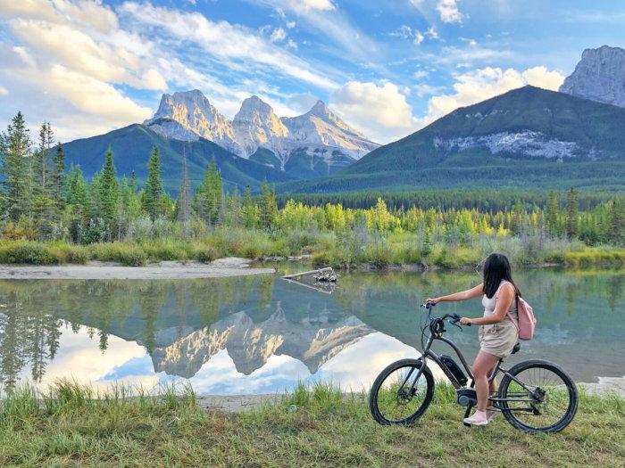 Rebound Cycle E Biking Canmore Kananaskis Rentals - Explore Alberta - Coast Canmore Hotel