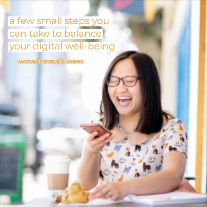 TELUS Wise Happiness Workshop - Edmonton Linda Hoang - Digital Wellbeing
