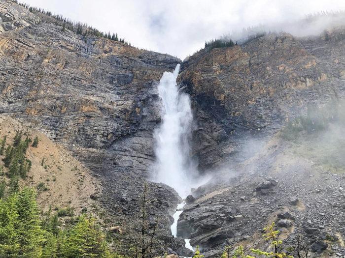 Takakkaw Falls - Yoho National Park - Explore BC - Explore Alberta