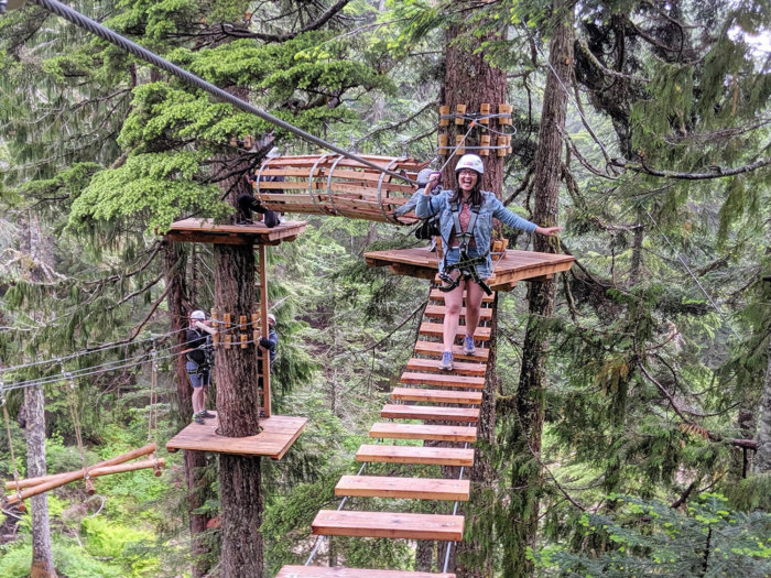 Instagrammable Vancouver - Picture Perfect Spots in Vancouver British Columbia - Murals - Scenic - Hello BC - Travel Guide - Grouse Mountain Adventure Park