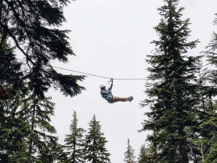 Instagrammable Vancouver - Picture Perfect Spots in Vancouver British Columbia - Murals - Scenic - Hello BC - Travel Guide - Grouse Mountain Ziplining