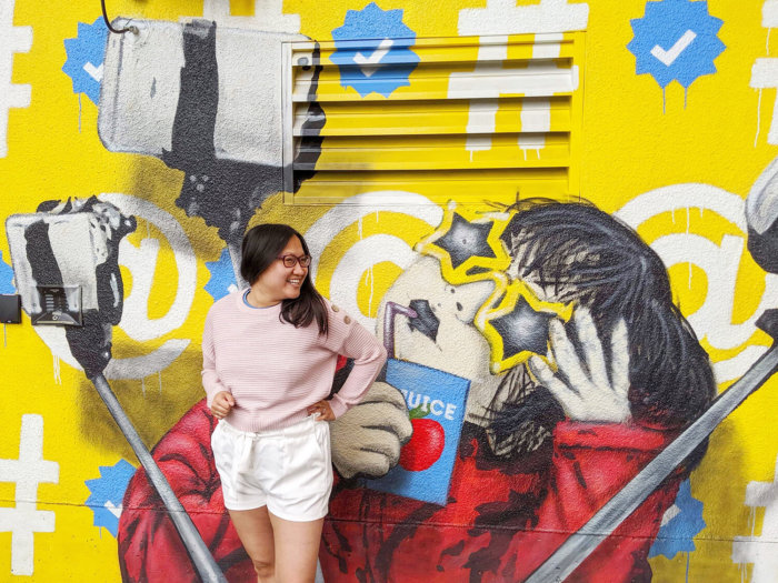 Instagrammable Vancouver - Picture Perfect Spots in Vancouver British Columbia - Murals - Scenic - Hello BC - Travel Guide - Thirsty Mural by ihatestencils Van Mural Fest