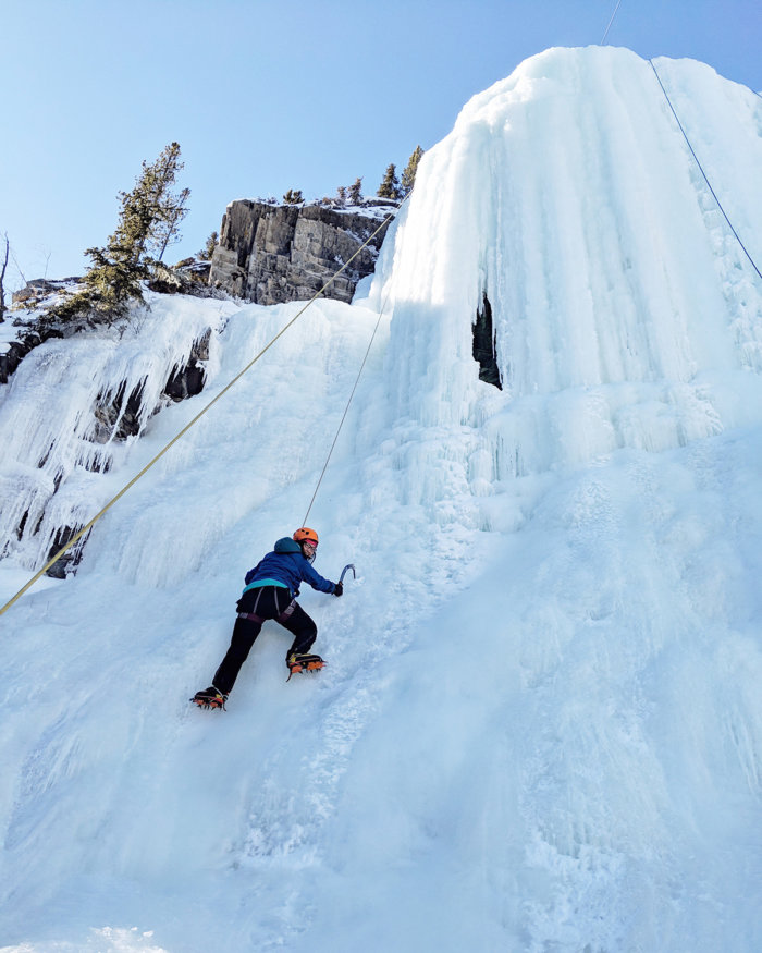 ATB Prosper - Emergency Savings Fund - Ice Climbing - Canmore Alberta - Edmonton - ATB Financial