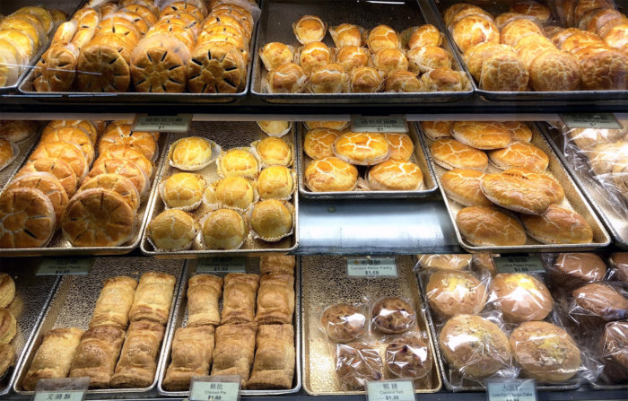Food Crawl - 4 Places to Eat in Edmonton Chinatown - Hong Kong Bakery Chinese Pastries