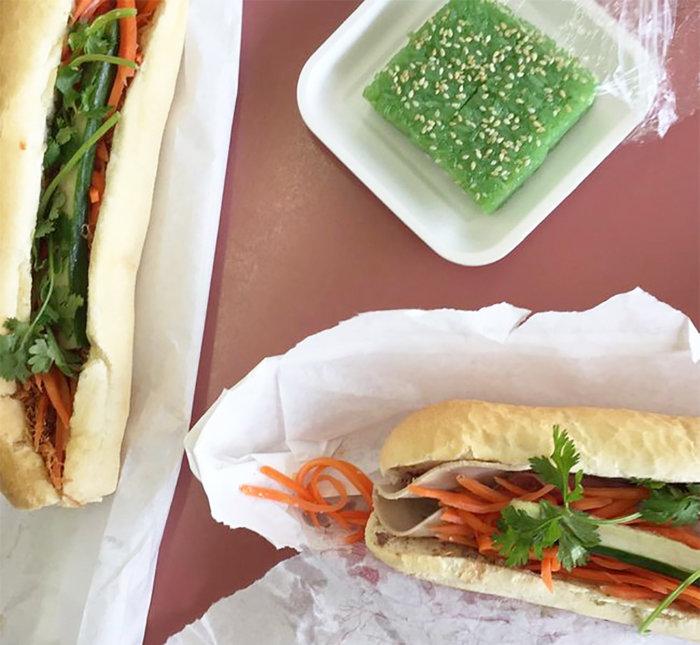Food Crawl - 4 Places to Eat in Edmonton Chinatown - Vietnamese Banh Mi Submarine Sandwich Van Loc