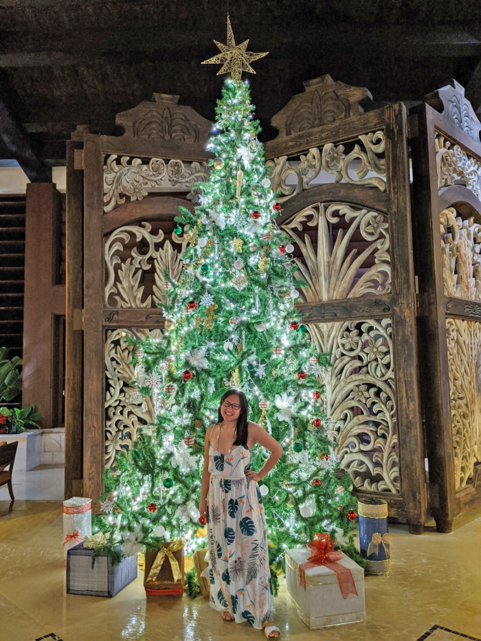 Dreams Riviera Cancun - Instagrammable Photo Op Spots - Places to Take a Picture - Mexico - Holiday Decor Christmas