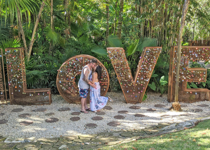 Dreams Riviera Cancun - Instagrammable Photo Op Spots - Places to Take a Picture - Mexico - Love Locks