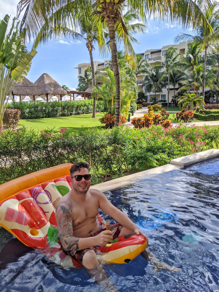 Dreams Riviera Cancun - Instagrammable Photo Op Spots - Places to Take a Picture - Mexico - Private Plunge Pool