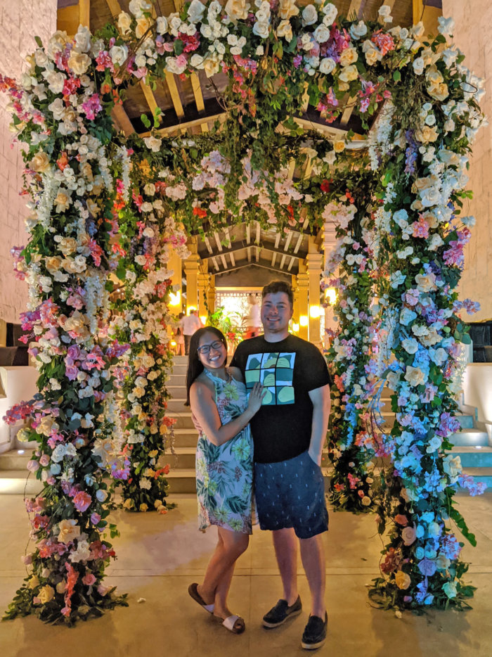 Dreams Riviera Cancun - Instagrammable Photo Op Spots - Places to Take a Picture - Mexico - Wedding Decor