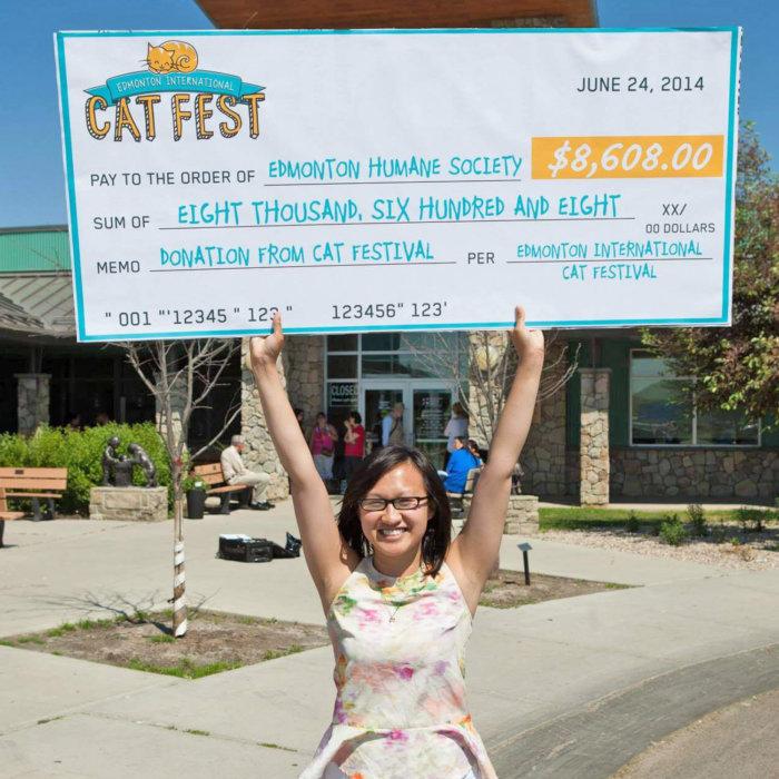 Edmonton Cat Festival Rescue Donations Charity