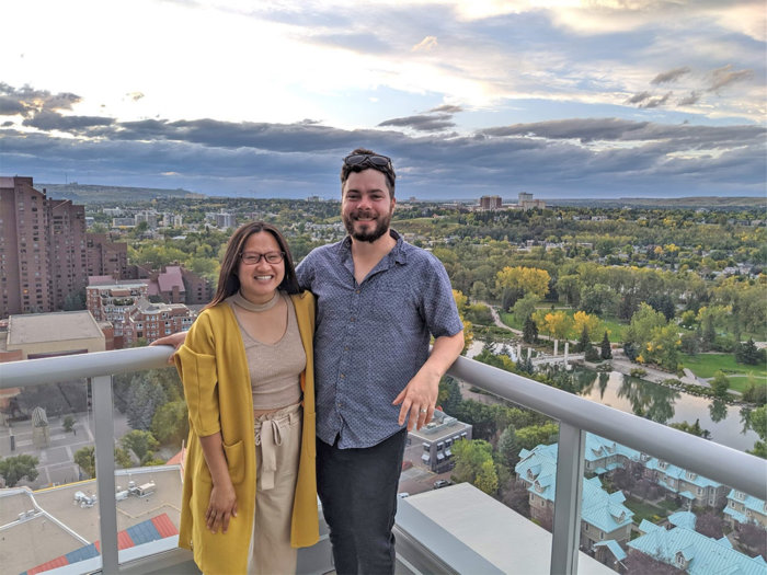 Mike and Linda Adoption - Calgary September 2019