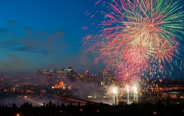 New Years Eve Fireworks Explore Edmonton Events