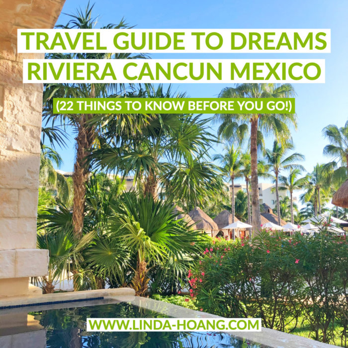 Dreams Riviera Cancun - All Inclusive Resort Mexico Guide Know Before You Go Tips