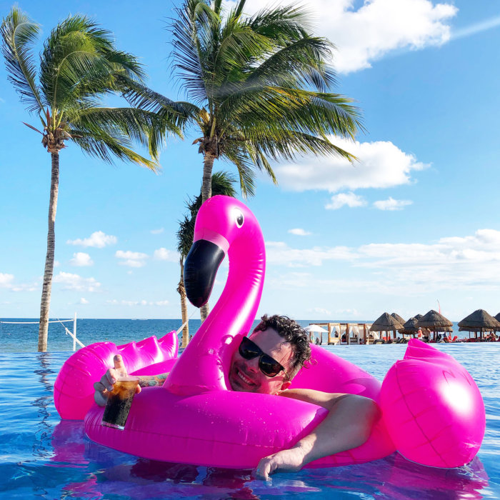 Dreams Riviera Cancun - All Inclusive Resort Mexico - Pool Floaties - Infinity Pool