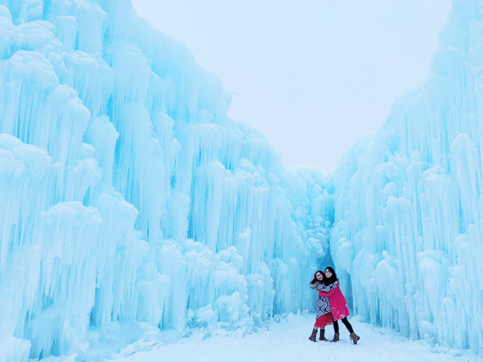 Explore Edmonton - Ice Castles - Explore Alberta - Canadian Winter Attraction