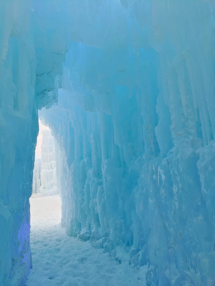 Explore Edmonton - Ice Castles - Explore Alberta - Canadian Winter Attraction - Instagrammable