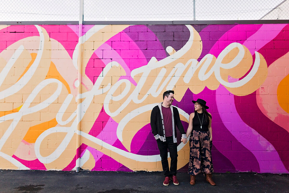 Instagrammable Walls Edmonton Guide - Valentines Day