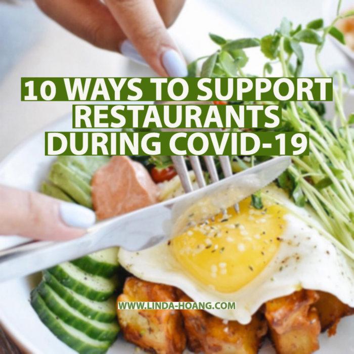 10 ways to support restaurants during COVID19 edmonton alberta canada
