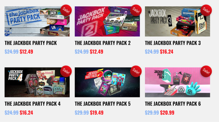 Jackbox Games Party Pack - Virtual Game Night - Video Chat