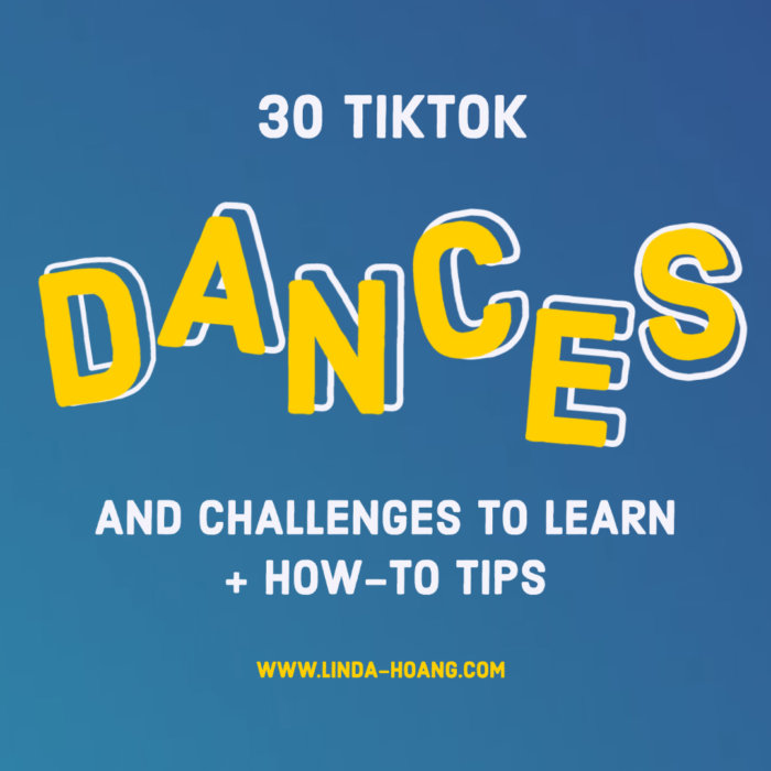 How to Learn TikTok Dances - 30 Dances to Learn at Home