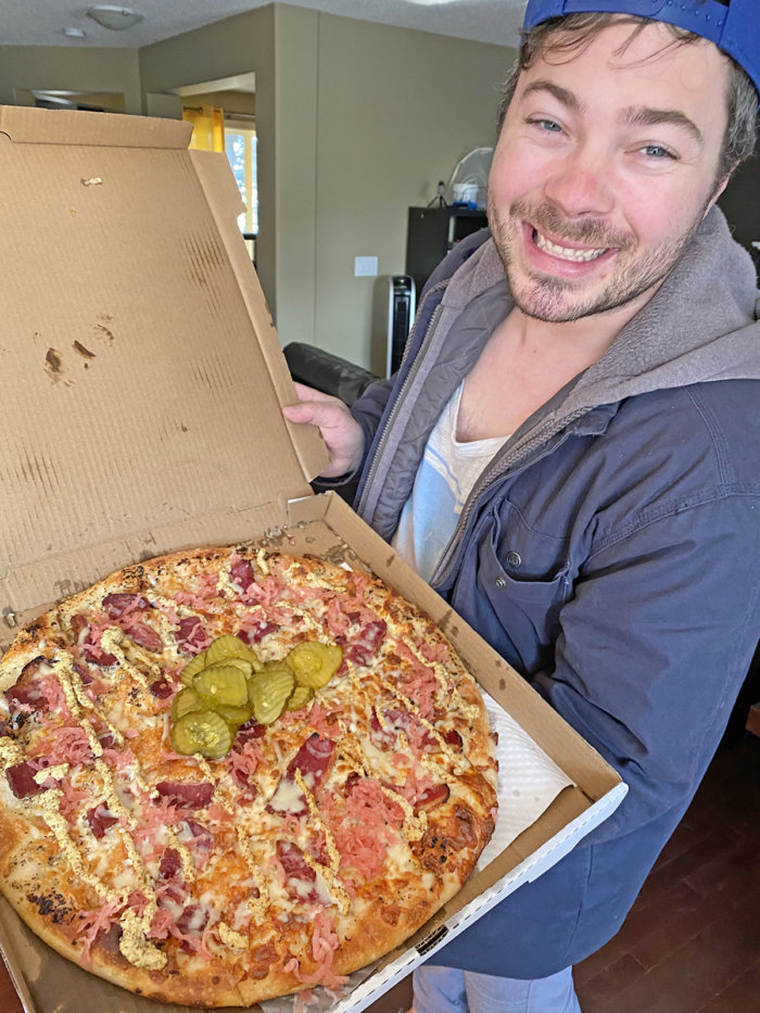 Mikes Week of Birthday Pizza - Daily Edmonton Pizza - Pink Gorilla Pizzeria