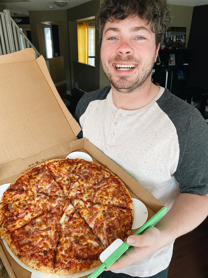 Mikes Week of Birthday Pizza - Daily Edmonton Pizza - Red Swan Pizza