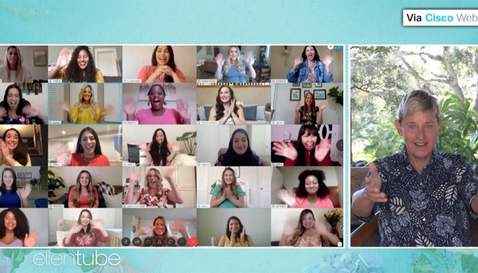 The ellen Show - virtual mothers day - edmonton mom