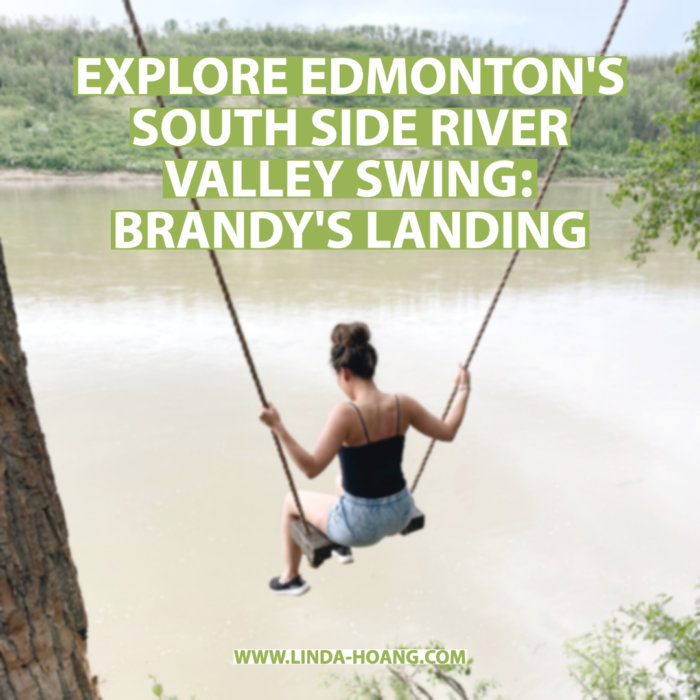 Brandy's Landing - Edmonton River Valley Swing Windermere - Explore Edmonton Travel Alberta