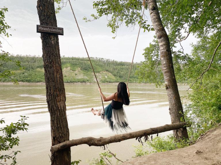 Brandy's Landing - Edmonton River Valley Swing Windermere