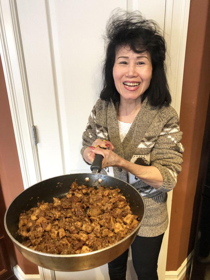 Vietnamese Thit Kho Mam Ruoc (Pork In Fermented Shrimp Sauce)