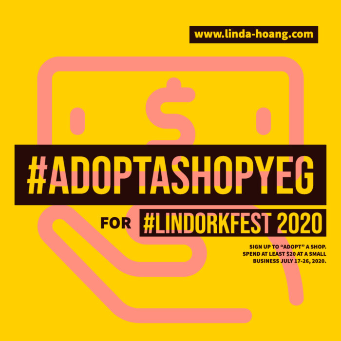 Adopt a Shop YEG for LindorkFest - Birthday Week - Support Edmonton Local Businesses