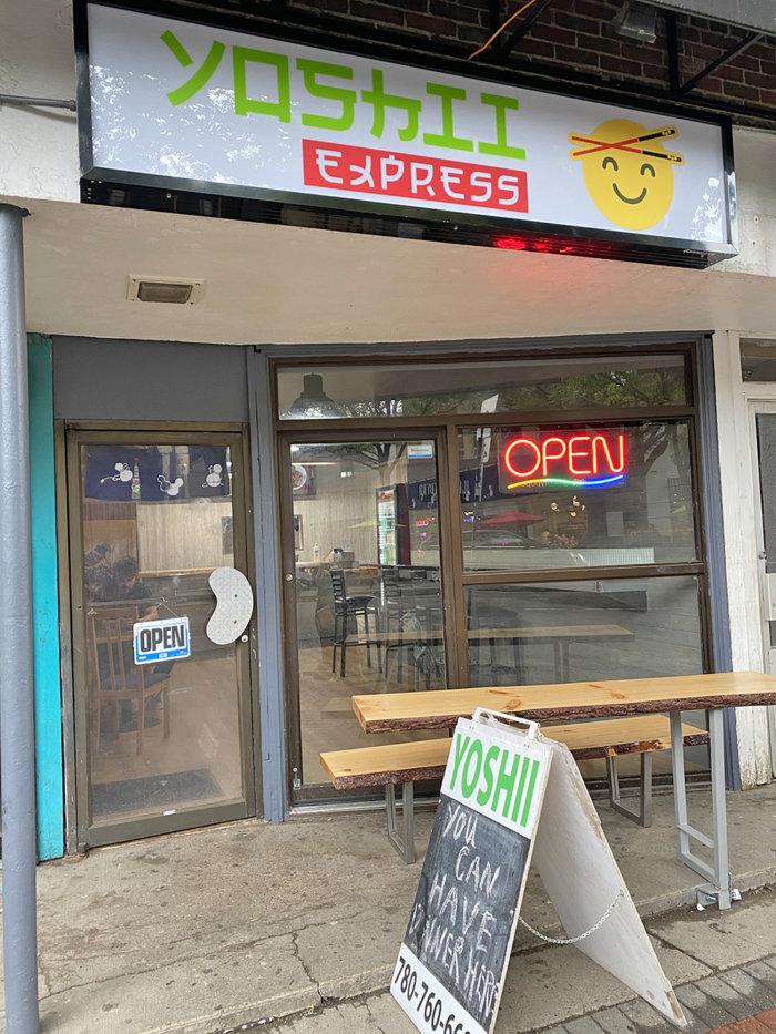 Alan - Yoshii Express - Japanese Edmonton Food