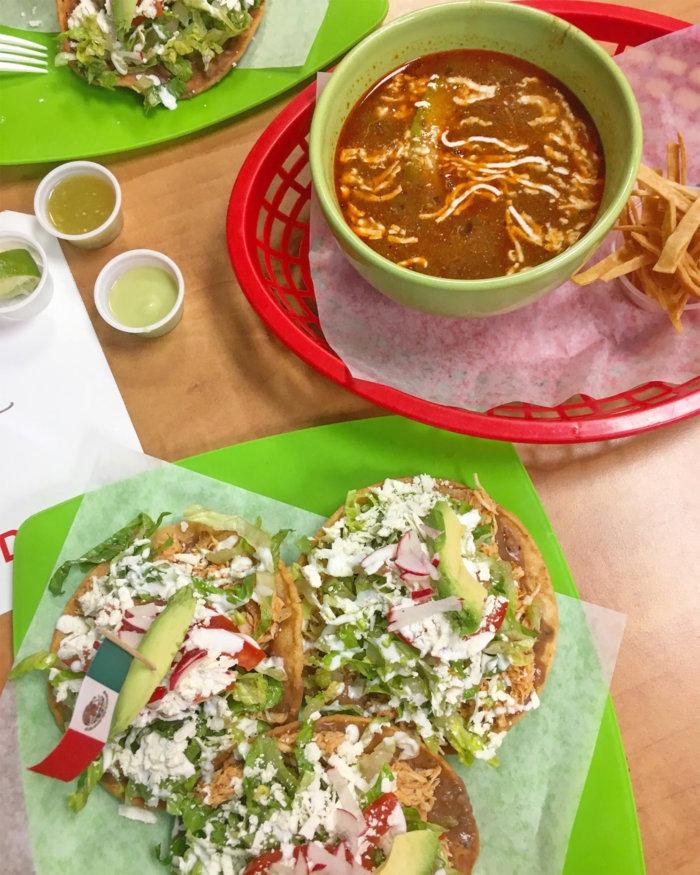 Calle Mexico Chicken Tostados and Tortilla Soup - Alberta Chicken - Canadian Chicken Farmers - Edmonton