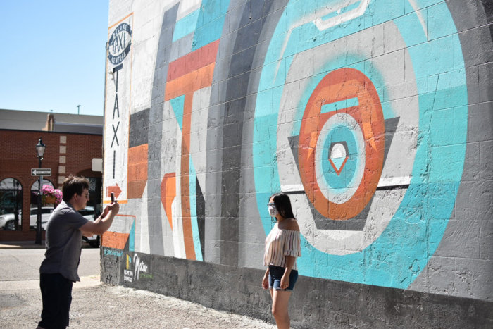 Instagrammable Walls of Medicine Hat - Josh Creighton - Art Mural
