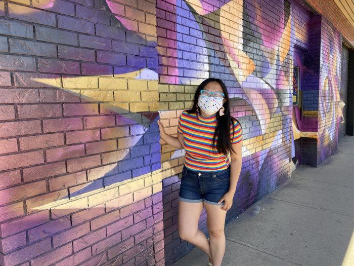 Instagrammable Walls of Medicine Hat - Vizsla Bacon - Art Mural