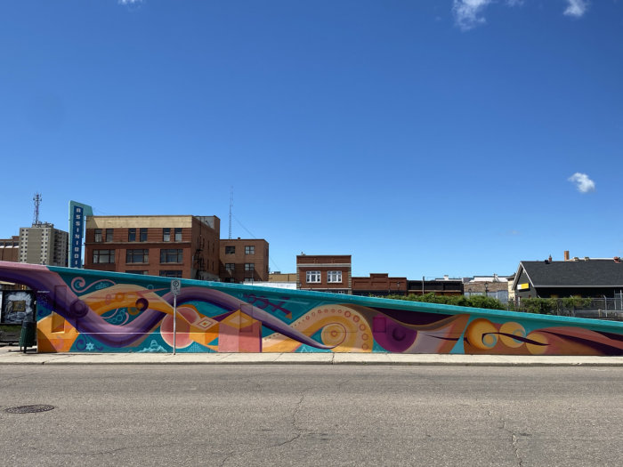 Instagrammable Walls of Medicine Hat - Will Oskam Josh Creighton - Art Mural
