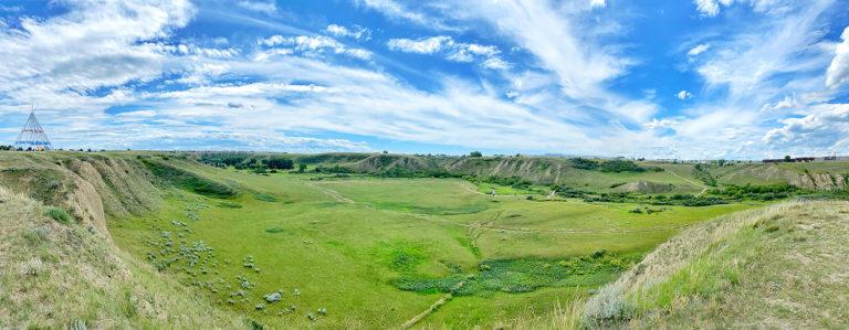 Saamis Archaeological Site - Saamis Tepee - Explore Alberta - Medicine Hat - Travel