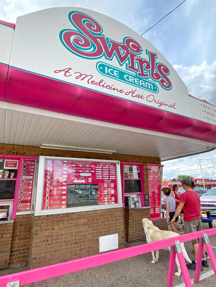 Swirl's Ice Cream - Explore Alberta - Medicine Hat - Travel