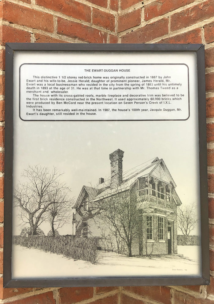 The Ewart Duggan House - Oldest Brick House - Explore Alberta - Medicine Hat - Travel