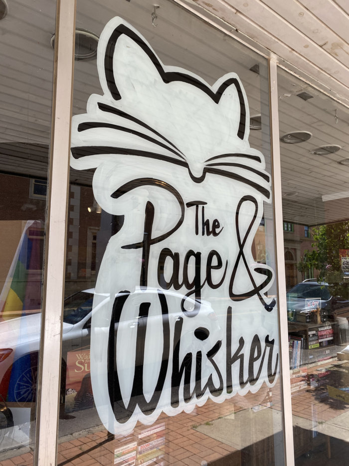 The Page and Whisker Cat Bookstore - Downtown Medicine Hat - Explore Alberta - Travel - Tourism Medicine Hat