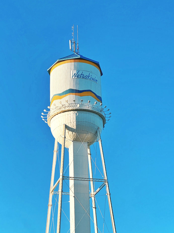 City of Wetaskiwin - Explore Alberta - Travel Guide - Where to Eat What To Do - Water Tower