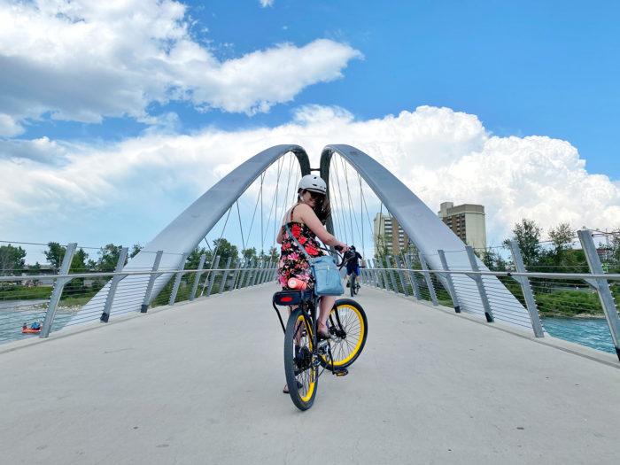 E-Bike Calgary - Explore Alberta - Travel - Downtown Calgary
