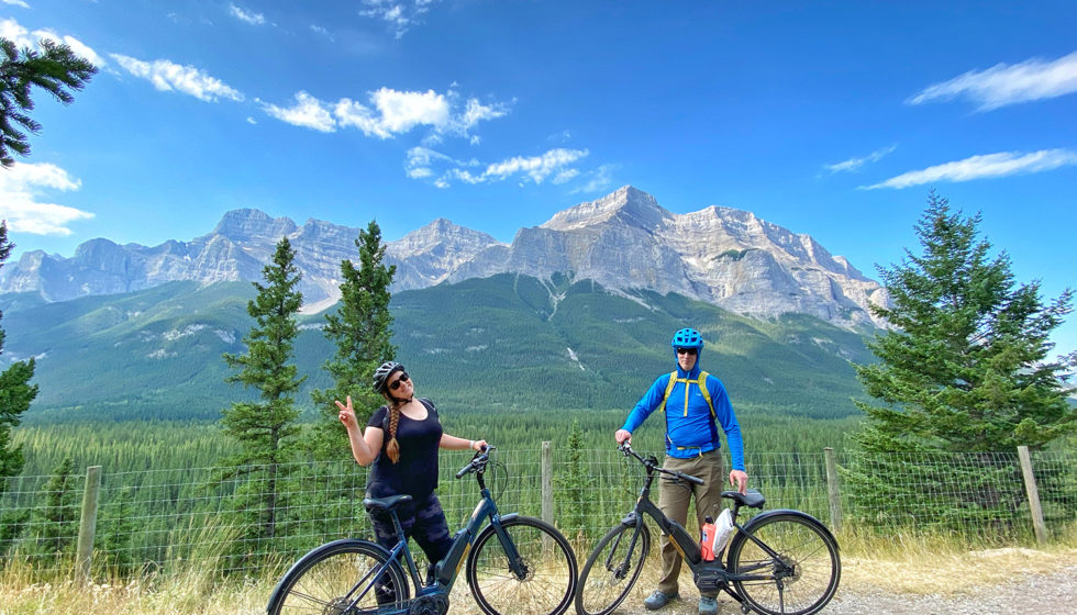E-Bike Canmore to Banff Legacy Trail - Canadian Rocky Mountains - Explore Alberta - Biking - Adventure - Travel