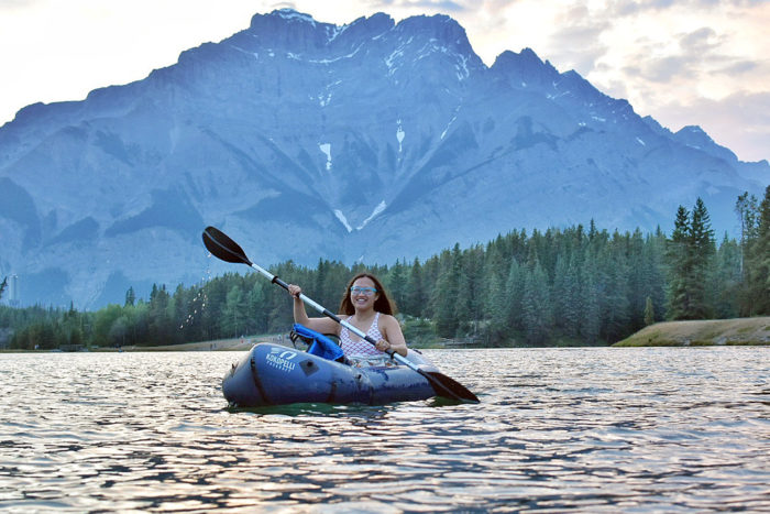 Explore Alberta - Banff National Park - Parks Canada - Johnson Lake - Mountain Adventure -Travel - Canmore