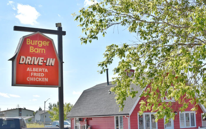 Linda Hoang - ATB Financial - Off The Beaten Path - Explore Alberta - Local Businesses Edmonton to Calgary Road Trip Day Trip - Burger Barn - Millet