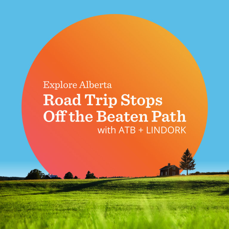 Linda Hoang - ATB Financial - Off The Beaten Path - Explore Alberta - Local Businesses Edmonton to Calgary Road Trip Day Trip - Project Name Title