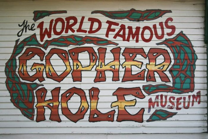 World Famous Gopher Hole Museum - Torrington Alberta - ATB Road Trips Off The Beaten Path - Explore Alberta